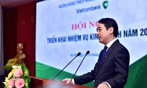 Vietcombank, con indice de morosidad mas bajo de la historia hinh anh 1