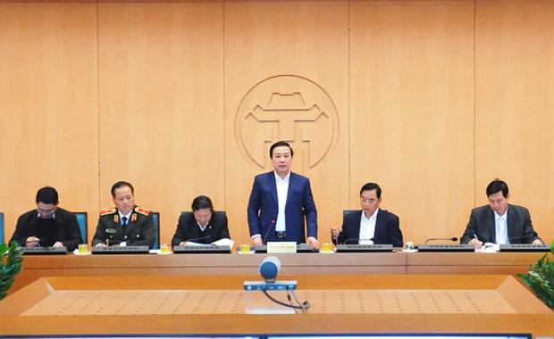 Hanoi refuerza la supervision de ciudadanos ingresados del extranjero hinh anh 1