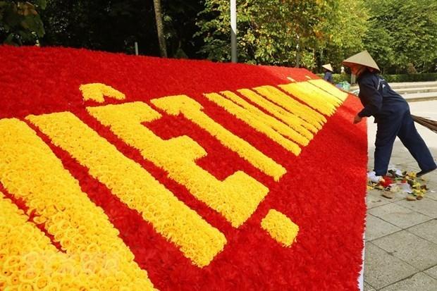 Hanoi fomenta preparaciones y divulgacion para XIII Congreso Nacional del Partido Comunista de Vietnam hinh anh 1