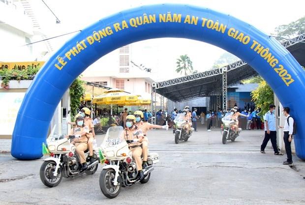 Ciudad Ho Chi Minh se esfuerza por reducir accidentes de trafico para 2021 hinh anh 1