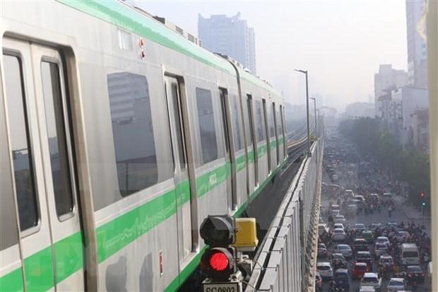 Proyecto ferroviario Cat Linh-Ha Dong programado para completarse a fines de marzo hinh anh 1