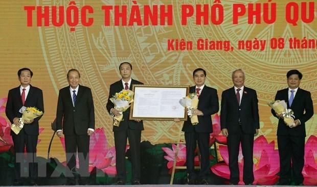 Anuncian el establecimiento de la ciudad islena de Phu Quoc hinh anh 1
