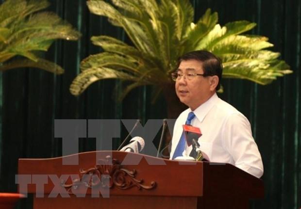 Empena Ciudad Ho Chi Minh en mantener crecimiento economico y mejorar administracion urbana hinh anh 2