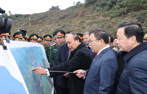 Inician en Vietnam expansion de planta hidroelectrica Hoa Binh hinh anh 1