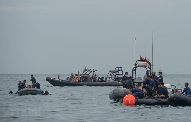 Indonesia trata de recuperar dos cajas negras del avion estrellado hinh anh 1