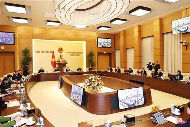 Inauguran reunion 52 de Comite Permanente del Parlamento de Vietnam hinh anh 2