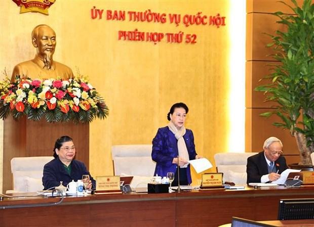 Inauguran reunion 52 de Comite Permanente del Parlamento de Vietnam hinh anh 1