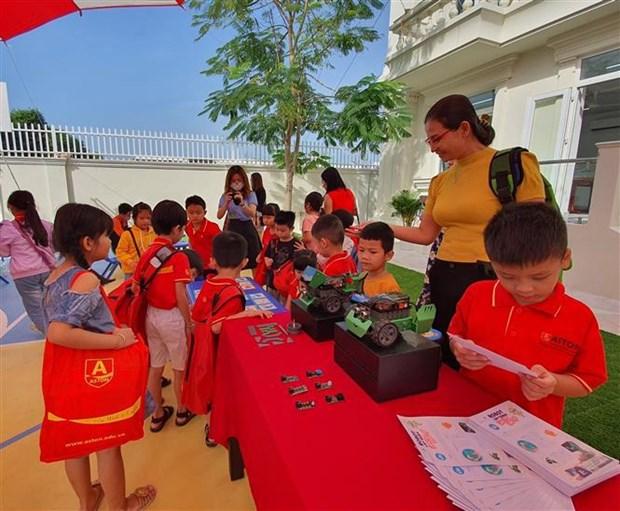 Ciudad survietnamita de Can Tho contara con jardin infantil mas moderno del Delta del Mekong hinh anh 1