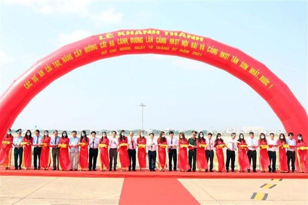 Entran en operacion pistas remodeladas de aeropuertos vietnamitas hinh anh 2