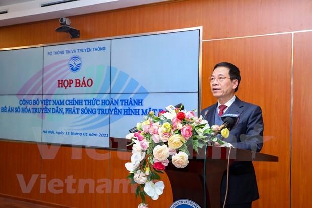 Vietnam avanza en la digitalizacion de la transmision televisiva hinh anh 2