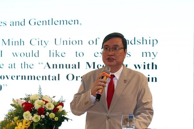 Ciudad Ho Chi Minh espera recibir mas apoyo de ONG extranjeras hinh anh 1