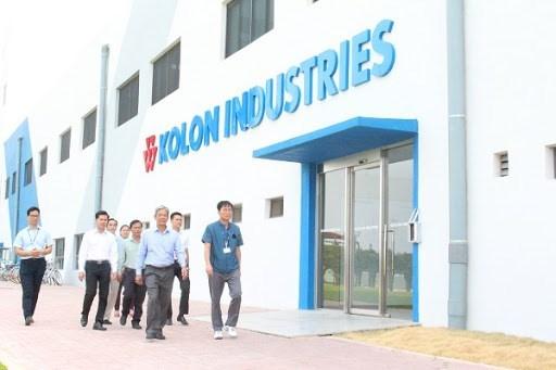 Empresa coreana amplia planta de cordones y tejidos para neumaticos en Vietnam hinh anh 1
