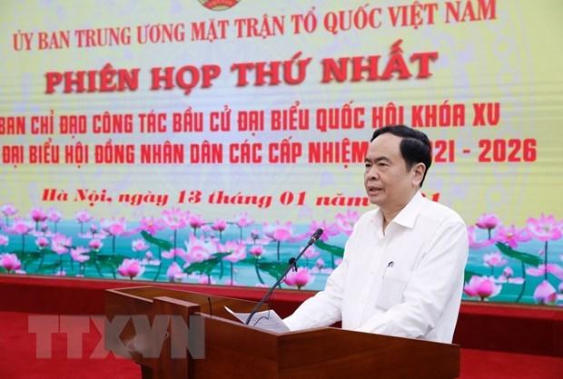Promueven papel del Frente de la Patria de Vietnam en elecciones generales hinh anh 1