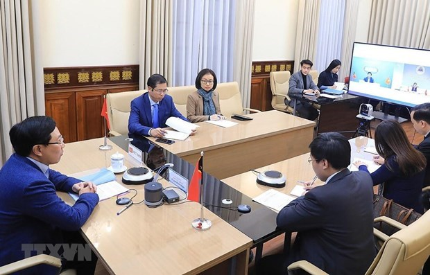 Vietnam y Timor Leste buscan estrechar cooperacion en foros regionales e internacionales hinh anh 1