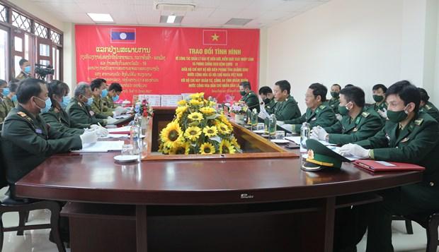 Vietnam y Laos fortalecen gestion fronteriza ante riesgos de COVID-19 hinh anh 1