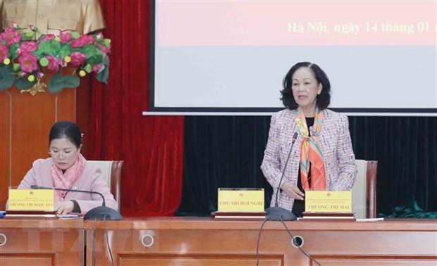 Trabajo de masas promueve espiritu de gran unidad nacional en Vietnam hinh anh 1