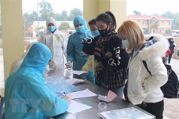Vietnam registra otros 10 casos importados de COVID-19 hinh anh 1