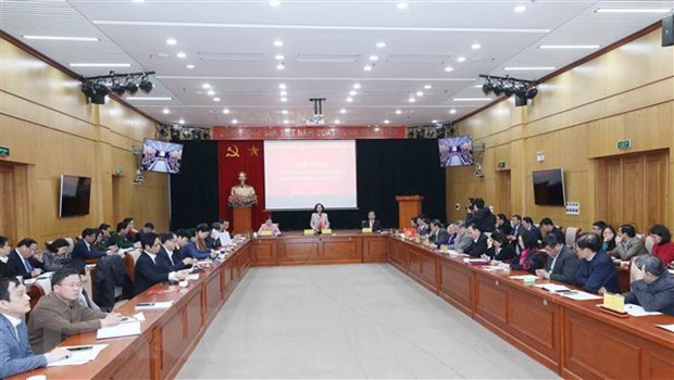 Trabajo de masas promueve espiritu de gran unidad nacional en Vietnam hinh anh 2