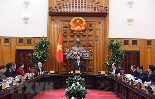 Primer ministro de Vietnam urge a provincia de Binh Phuoc a mejorar entorno de inversion hinh anh 1