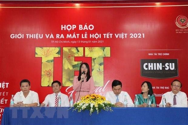 Ciudad Ho Chi Minh celebra diversas actividades en visperas del Tet hinh anh 1