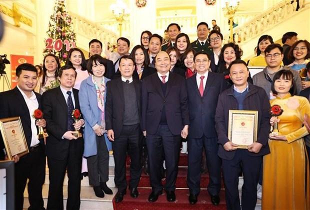 Honran a VNA en Premio sobre construccion del Partido Comunista de Vietnam hinh anh 1