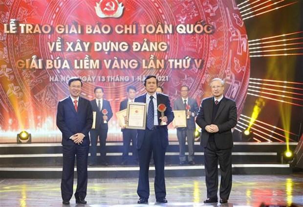 Honran a VNA en Premio sobre construccion del Partido Comunista de Vietnam hinh anh 4