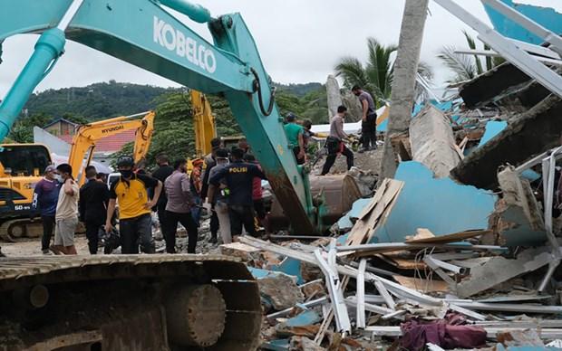 Alerta de tsunami en Indonesia tras terremoto hinh anh 1