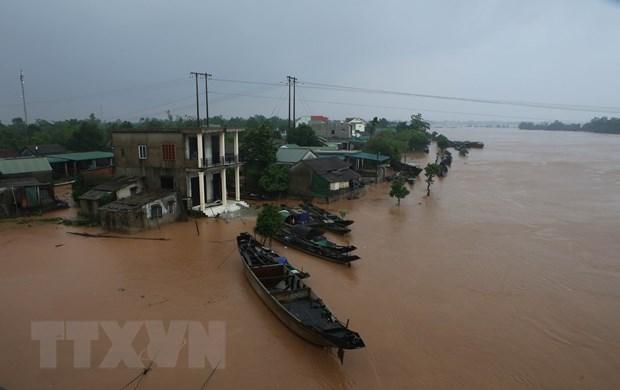 Gobierno indio apoya a vietnamitas afectadas por desastres naturales hinh anh 1