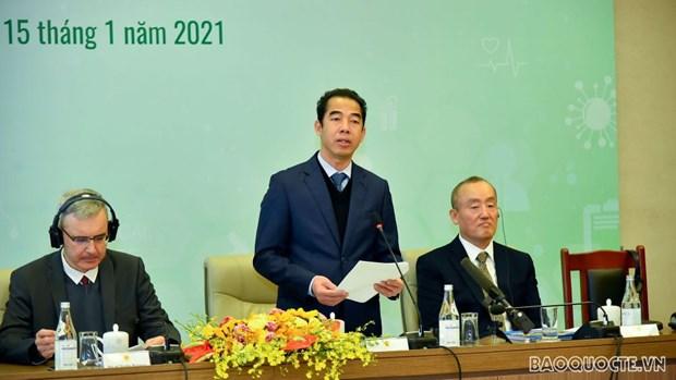 Vietnam intensificara la cooperacion con el mundo para responder a los desafios medicos hinh anh 1