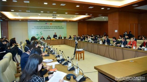 Vietnam intensificara la cooperacion con el mundo para responder a los desafios medicos hinh anh 2