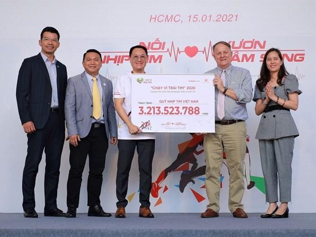 Maraton caritativo recauda fondos a ninos desfavorecidos en Vietnam hinh anh 1