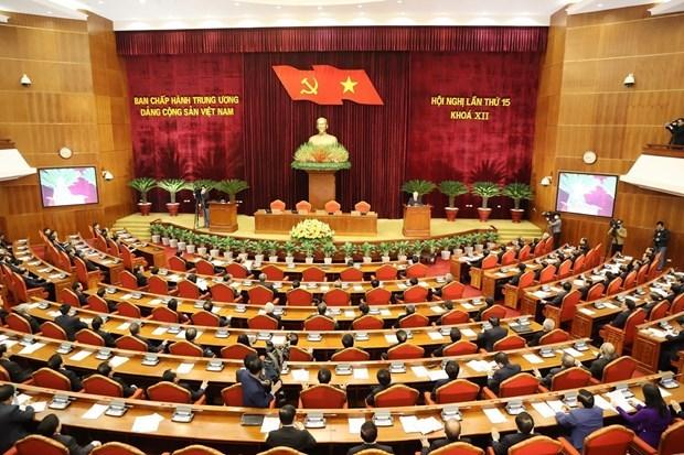El XV pleno del Comite Central del PCV completa los preparativos para XIII Congreso Nacional hinh anh 3