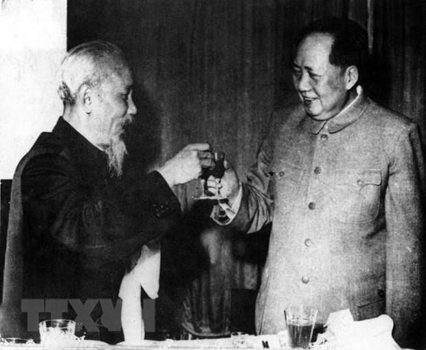 Conmemoran 71 anos de establecimiento de relaciones diplomaticas Vietnam-China hinh anh 1