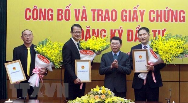 Provincia vietnamita de Bac Giang recibe proyecto millonario hinh anh 1