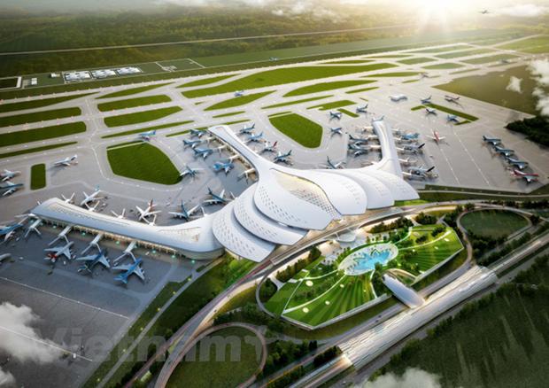 El aeropuerto Long Thanh se convierte en un centro de transito aereo regional hinh anh 1