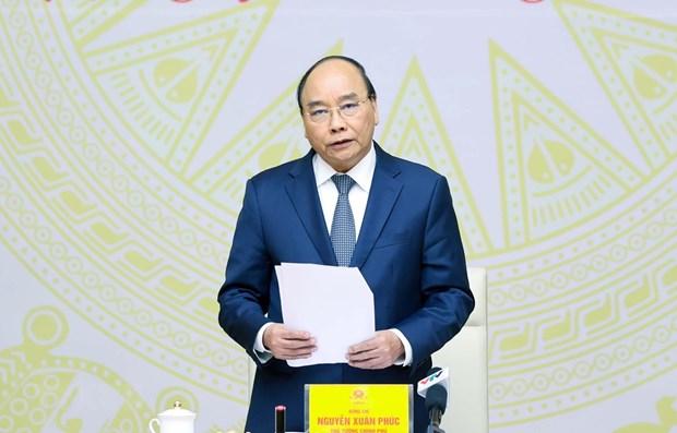 Primer ministro de Vietnam pide buscar nuevos impulsos para el desarrollo hinh anh 1