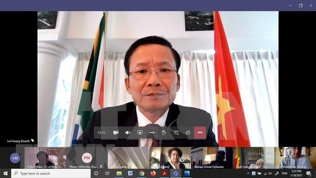ASEAN contribuye a fortalecer conectividad en el sur de Asia, segun diplomatico vietnamita hinh anh 2