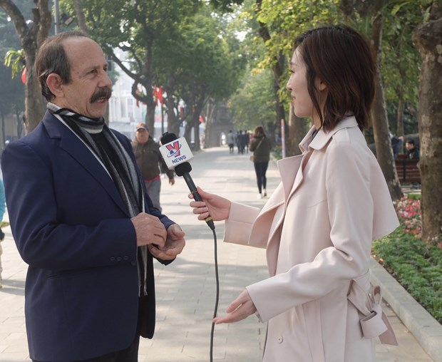 Congreso Nacional partidista garantizara presente y futuro de Vietnam, afirma periodista cubano hinh anh 1