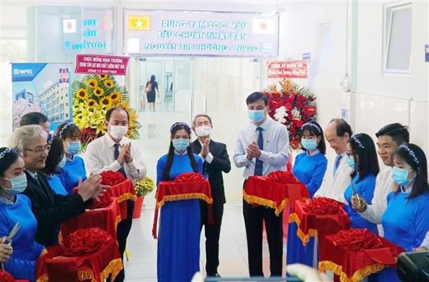 Ponen en operacion centro de dialisis con estandares japoneses en ciudad vietnamita hinh anh 1