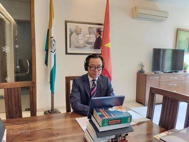 Interes del pais: brujula para las labores diplomaticas de Vietnam hinh anh 1