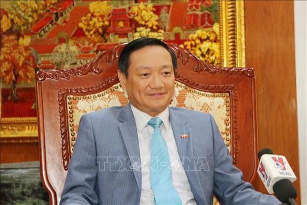 Relacion Vietnam-Laos se vuelve mas especial durante la pandemia de COVID-19 hinh anh 2