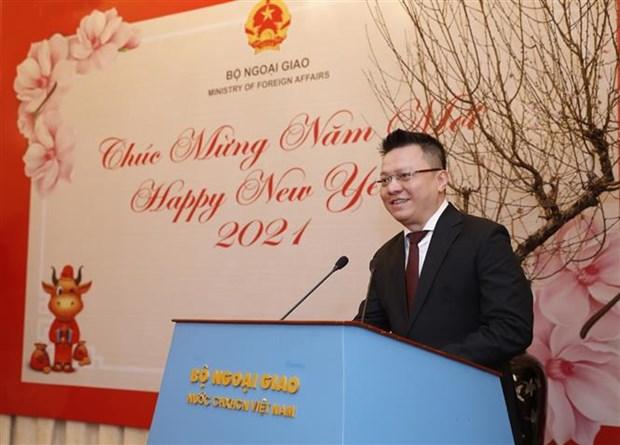 Ministerio vietnamita de Relaciones Exteriores logra resultado positivo pese a COVID-19 hinh anh 2