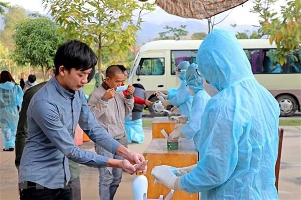 Vietnam reporta cuatro nuevos casos importados de COVID-19 hinh anh 1