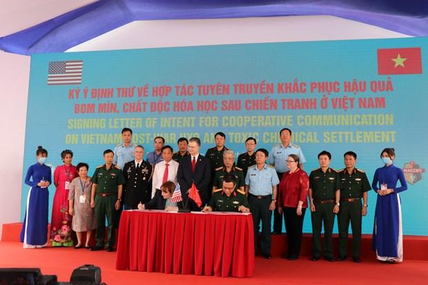 Avanza proyecto de neutralizacion de dioxina en aeropuerto vietnamita hinh anh 3