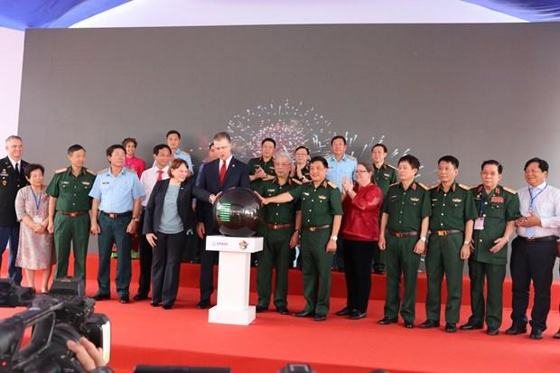 Avanza proyecto de neutralizacion de dioxina en aeropuerto vietnamita hinh anh 1