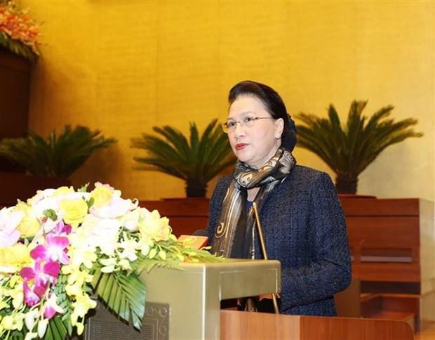 Maximo dirigente de Vietnam pide concentrar esfuerzos para garantizar exito de elecciones generales hinh anh 4