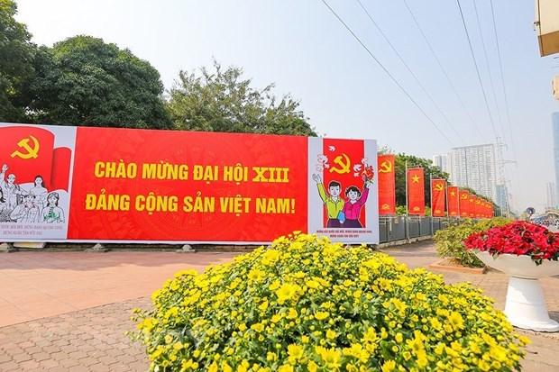 El XIII Congreso Nacional del Partido, hito historico de la vida sociopolitica de Vietnam hinh anh 1