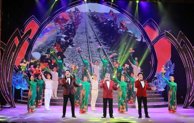 Efectuaran en Hanoi programa artistico en saludo al XIII Congreso Nacional partidista hinh anh 1