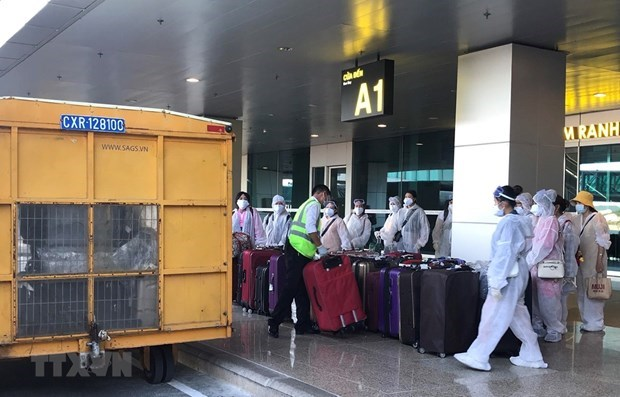 Vietnam registra dos nuevos casos importados del COVID-19 hinh anh 1