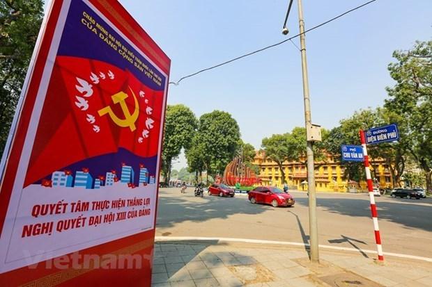 Residentes vietnamitas en Alemania confian en el liderazgo del PCV hinh anh 1